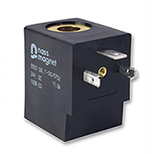 Solenoid Coil, 30 mm, DIN EN 175301-803-A, Thermoplast